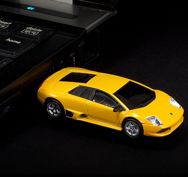 Lamborghini Murcielago Wireless Mouse