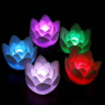 LED Rose Party Candle Light Lamp