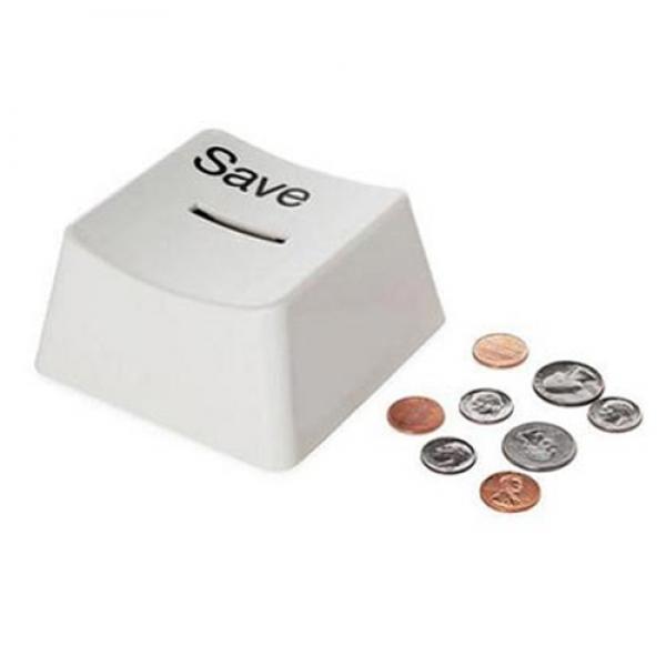"Money Box – Computer Key ""Save"""