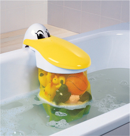Pelican Bath Toy Storage Pouch & Pelican Bath Toy Storage Pouch » Petagadget