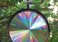 Rainbow Axicon Window Suncatcher