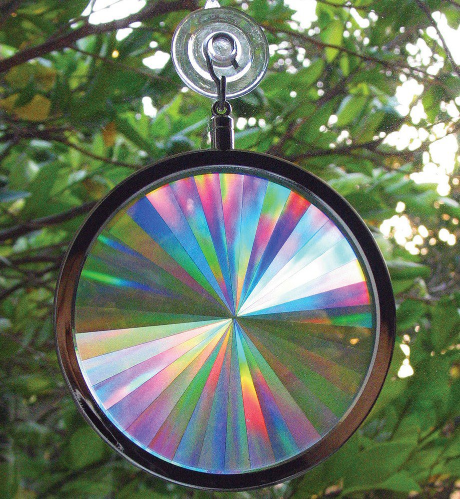 Rainbow Axicon Window Suncatcher