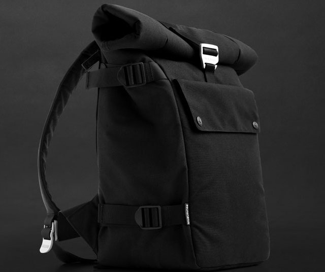 Roll Top Backpack by Bluelounge
