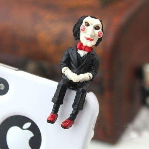 Saw Jigsaw Puppet Earphone Jack
