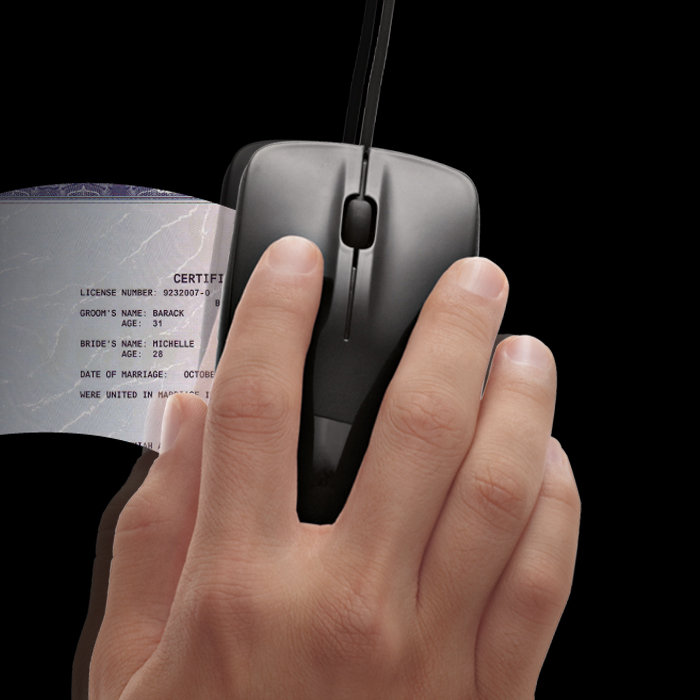 Scanner Mouse by Brookstone