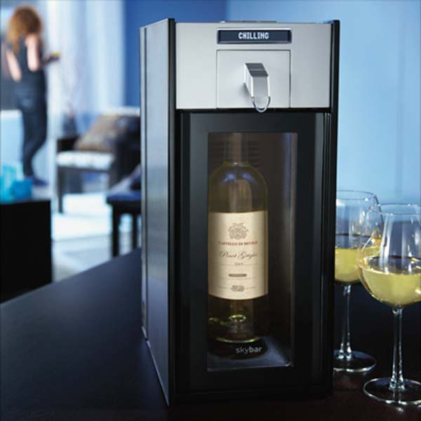 Skybar Chamber Wine Preservation System
