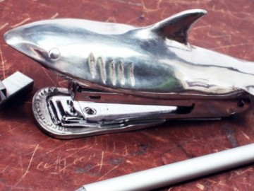 Shark Bite Stapler by Jac Zagoory Design