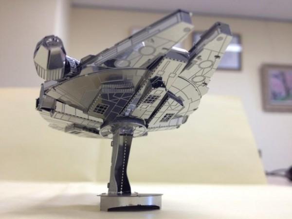 Star Wars Millennium Falcon Metallic Nano Puzzle