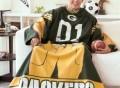 """NFL """"Huddler"""" Comfy Throw"""