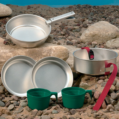 Backpacker Cookware Set
