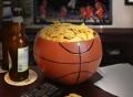 Basketball Ceramic Snack Bowl