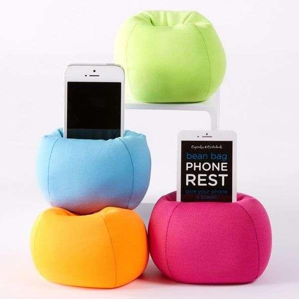 Bean Bag Phone Rest