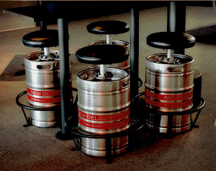 Beer Keg Stool 187 Petagadget