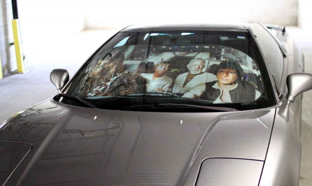 Car Star Wars Sunshade