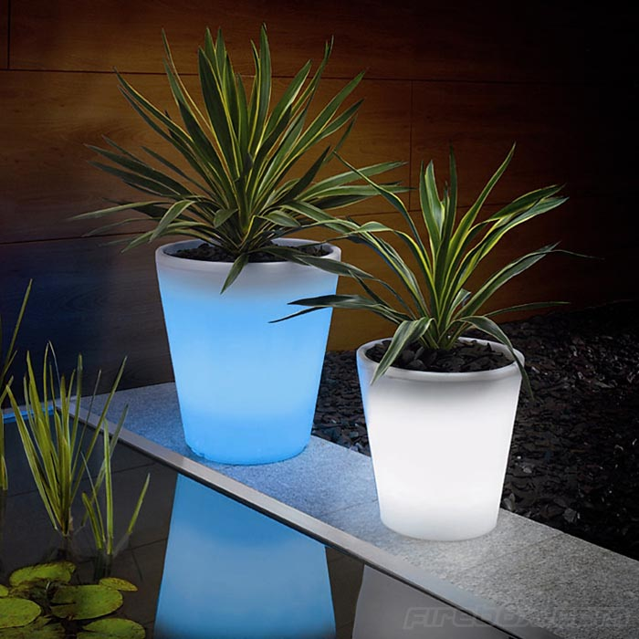 Color Changing LED Plant Pot