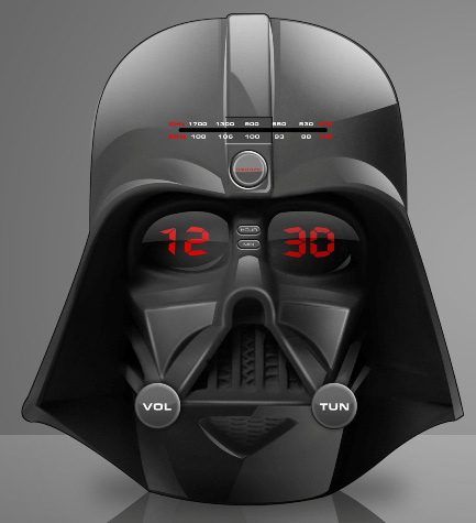 Darth Vader LED Alarm Clock