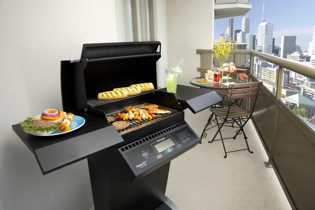 Deluxe Tuxedo Electric Grill