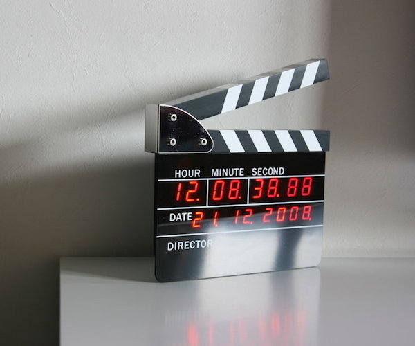 Directors Edition Digital Alarm Clock