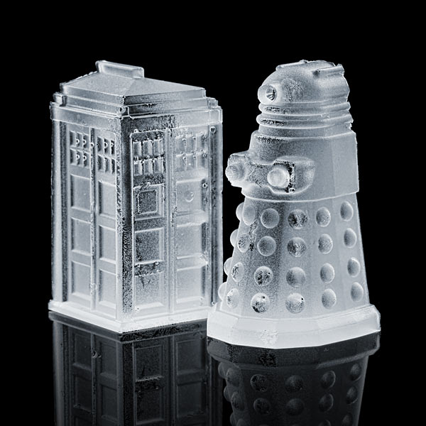 Doctor Who Silicone Ice Tray