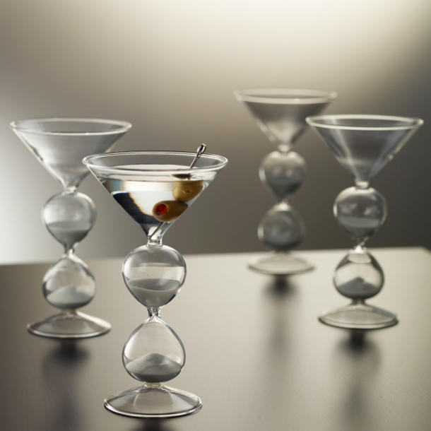 Five Minute Hourglass Martini