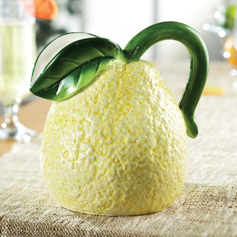 Fruit Ceramic Lemon Pitcher