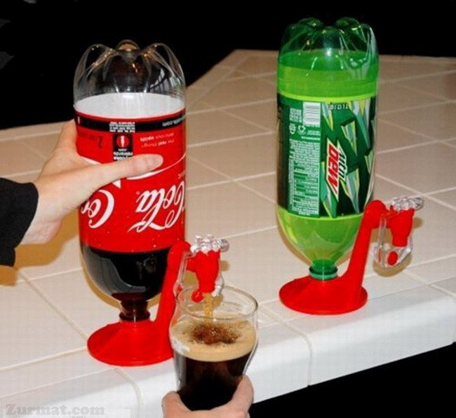 Fridge Fizz Saver Soda Dispenser