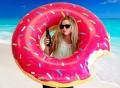 Gigantic Donut Pool Float
