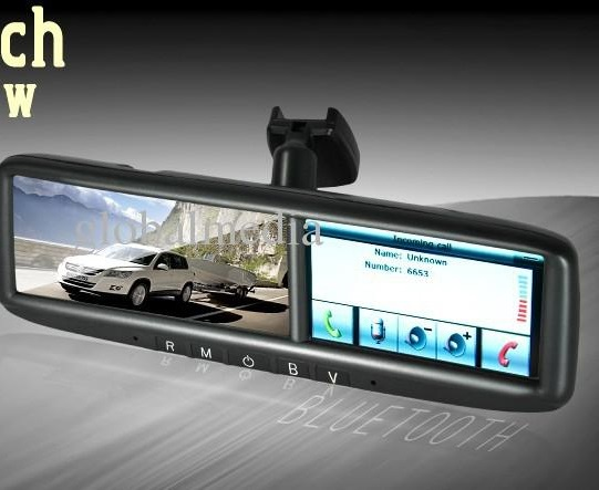 GPS Navigation Rearview Mirror