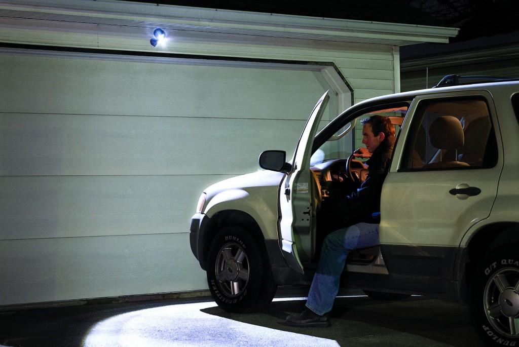 Motion Sensing Security Spotlight