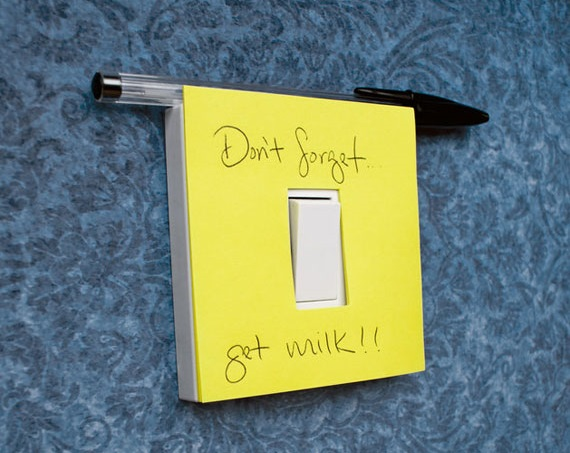 Post-it Note Light Switch