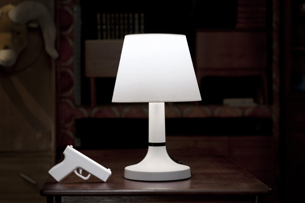 Remote Gun Lamp