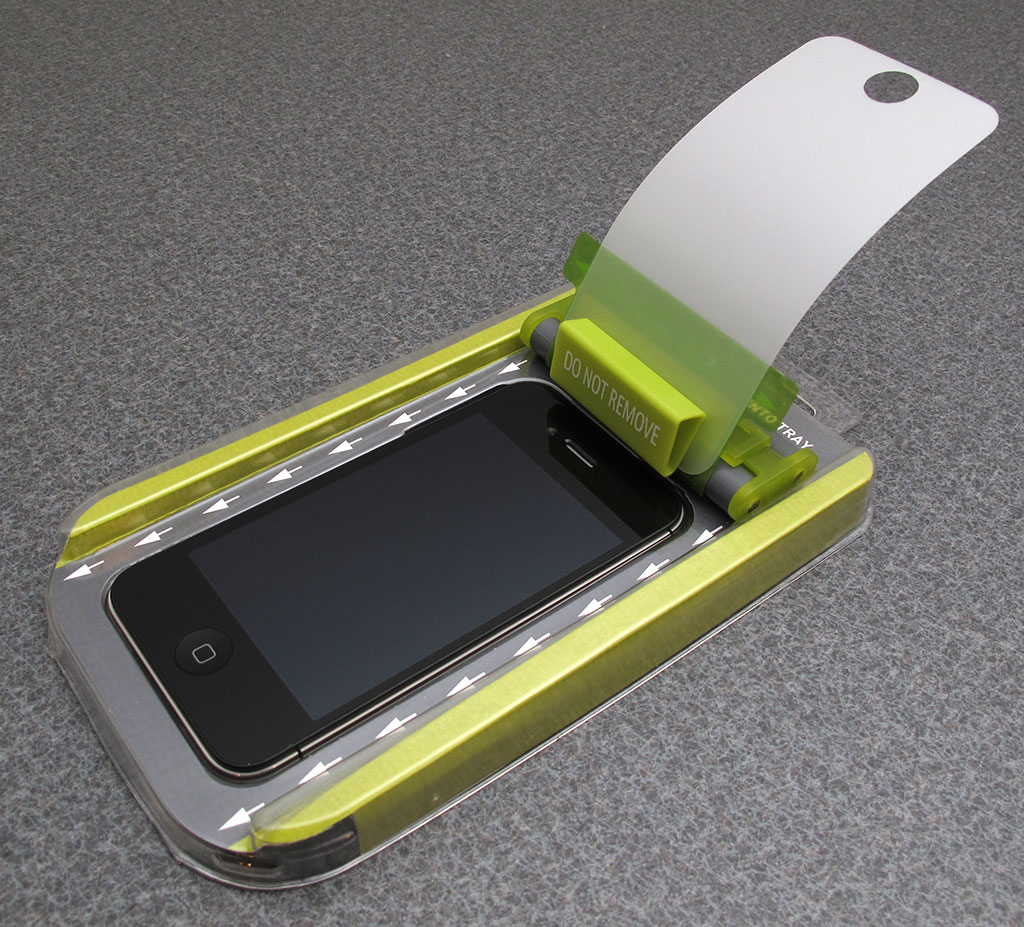 Roll-On iPhone Screen Shield Kit by PureGear