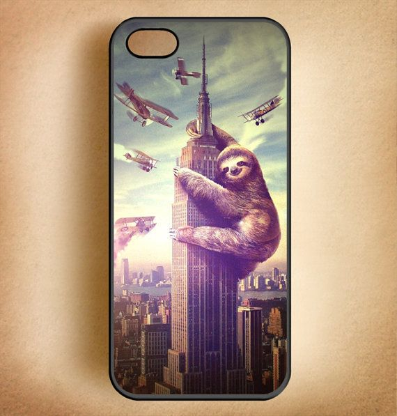 Shirter Slothzilla iPhone 4 & 4S Case