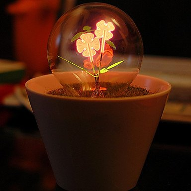 Table Light Glass Globe