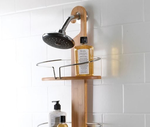 Umbra Bamboo Shower Caddy