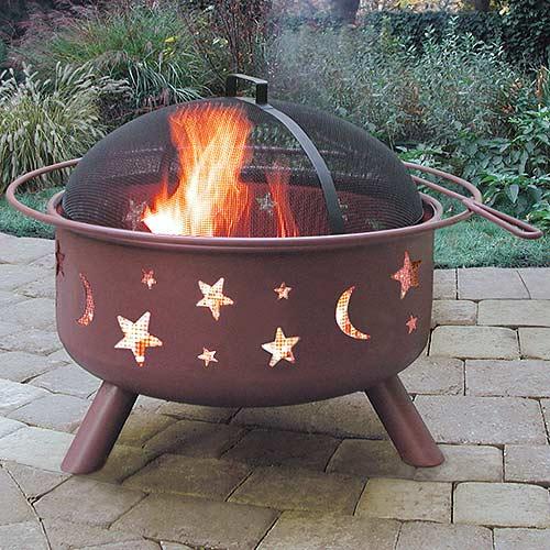 Big Sky Stars & Moons Firepit