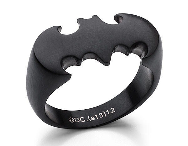 Batman Ring in Matte Black