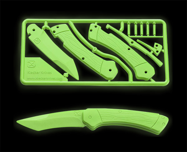 Glow in the Dark Knife Kit