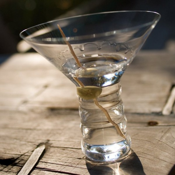 Riedel O Martini Glass