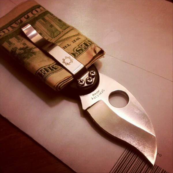 Money Clip Folding Knife
