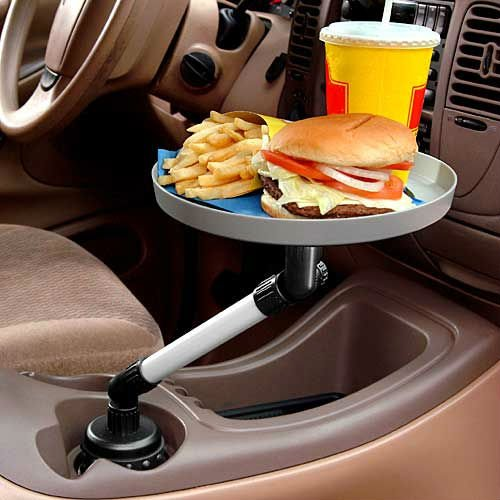 Cup Holder Swivel Tray