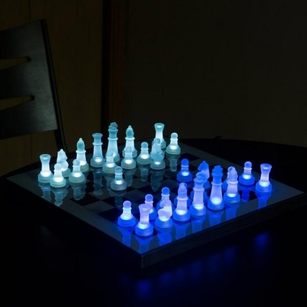 LED Chess Set by LumiSource
