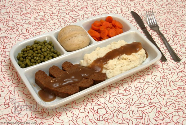 Stoneware TV Dinner Tray