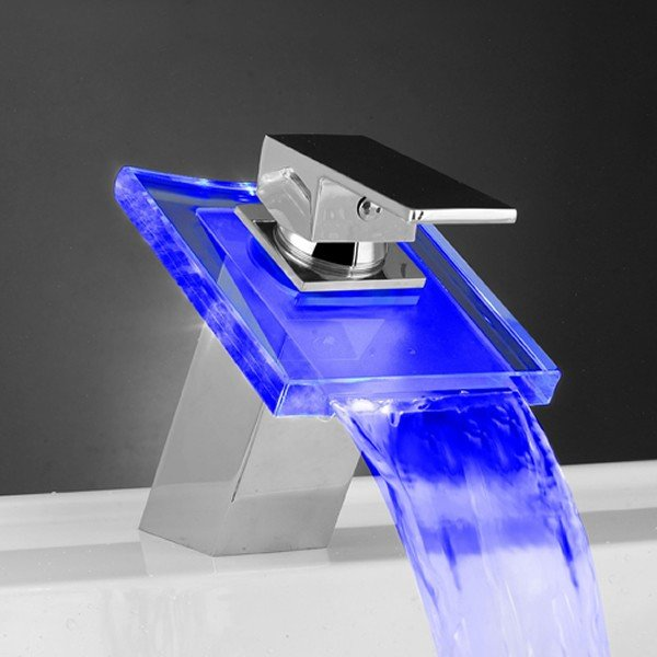 Temperature Sensitive LED Faucet