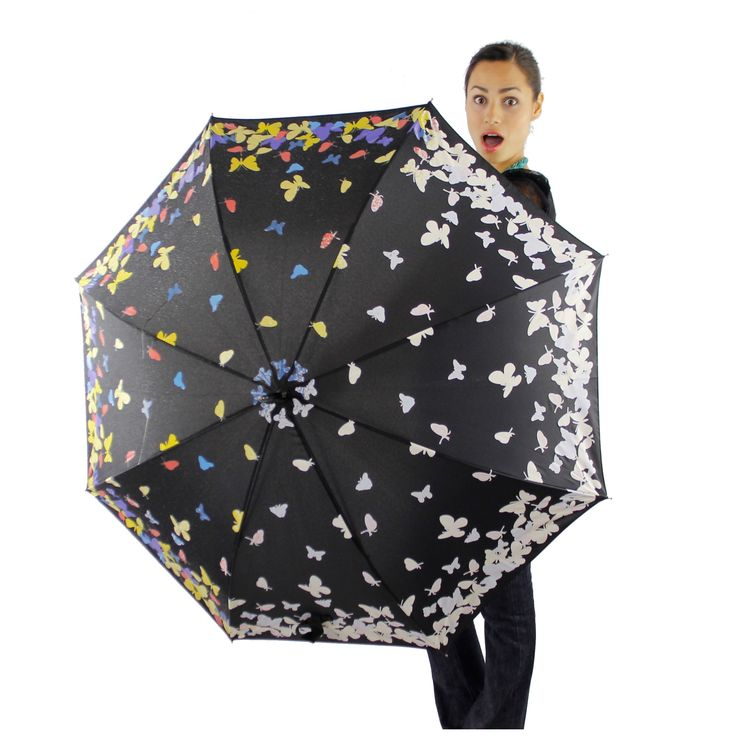 Color Changing Butterfly  Umbrella