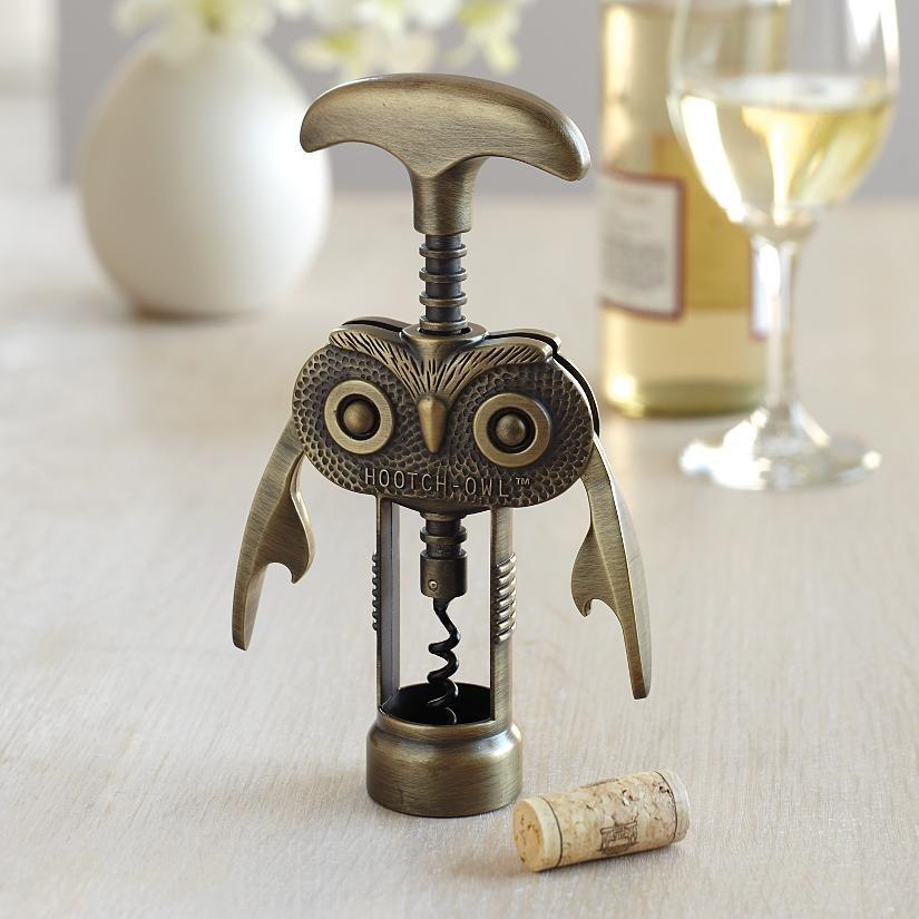 Hooch-Owl Wine Opener