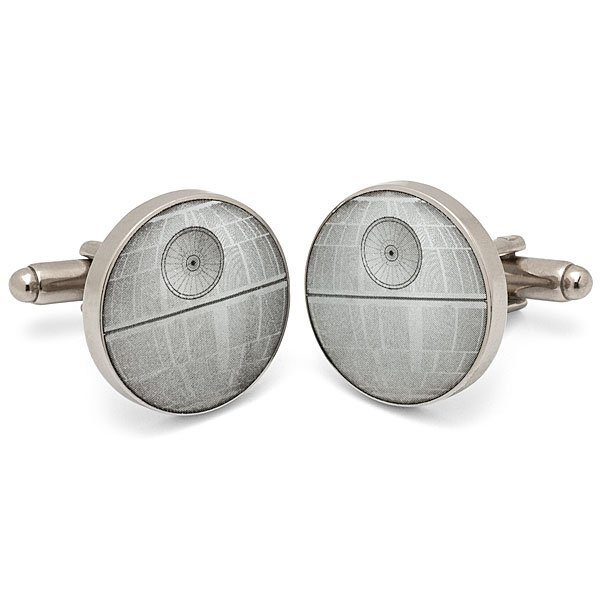 Death Star Cuff Links