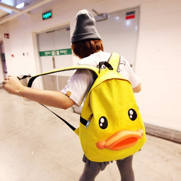 Yellow Duck Backpack