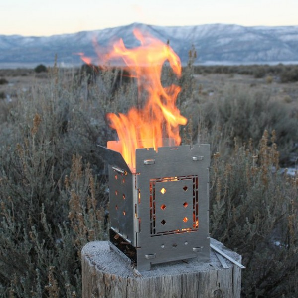 Firebox 5″ Folding Campfire Stove