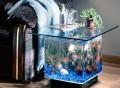 Aqua End Table Aquarium